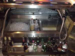 Francis catering solutions: Stainless steel cocktail / ice well