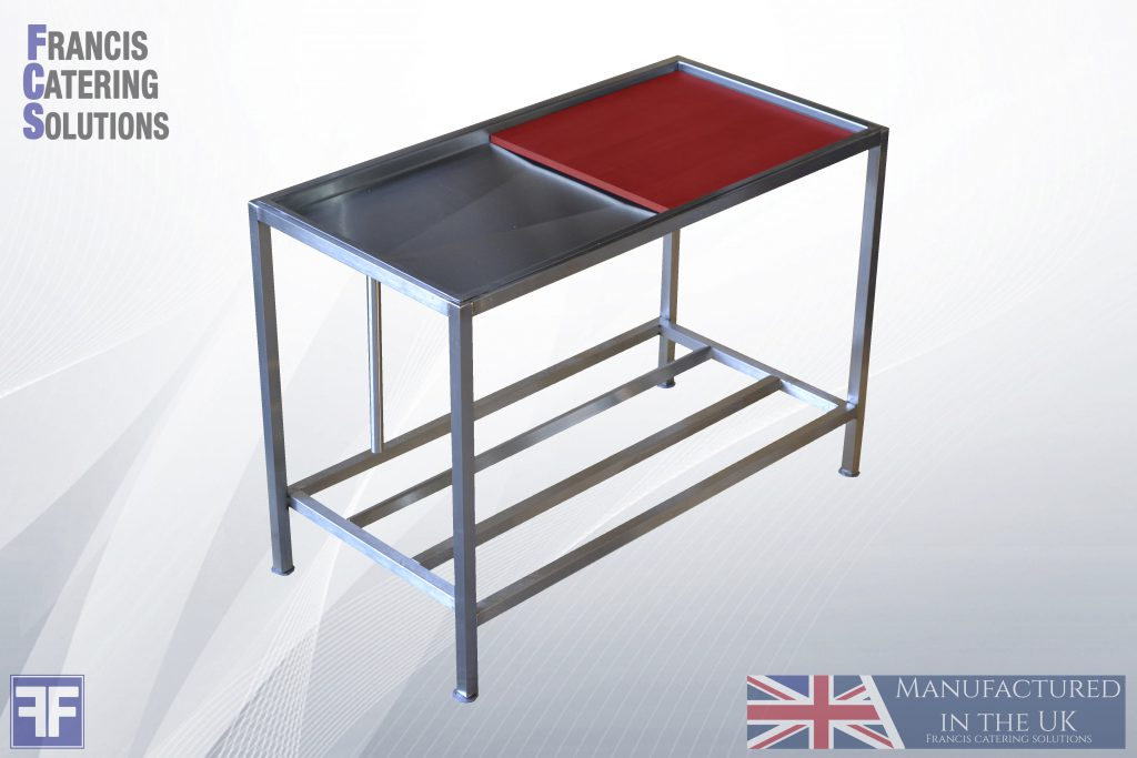 Sausage Filler / Butchers Block Stainless Steel table